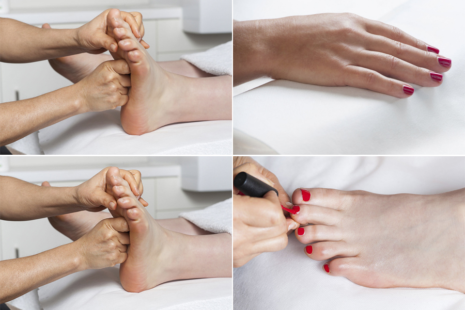 Manicure and European Pedicure by Clara's Beauty Clinic